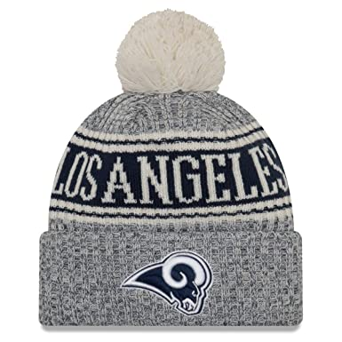 5c7e698a1 Amazon.com  New Era Los Angeles Rams Reverse Sport Knit NFL 2018 ...