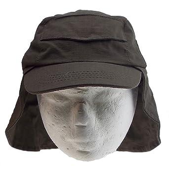 a41bee2df067 Véranno 1 casquette avec cache nuque - ribstop - chapeau - enfant - mixte -  taille