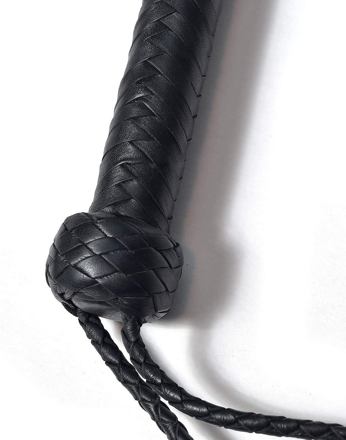 Fully Handmade Genuine Leather Whip Plait Weaved Riding Crops Whip Horse /& Bull Obedience Training Whips Black BARE SUTRA Training Tails 3 feet, Black Braided Plait Handle