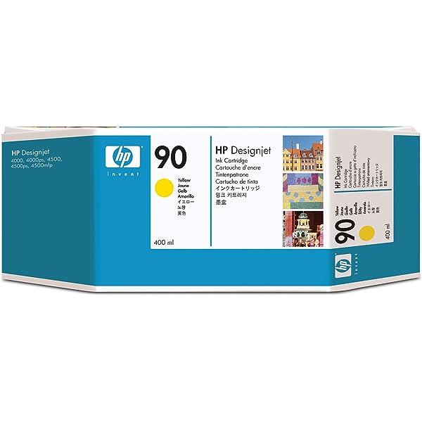 HP C5058A - Cartucho de tinta, no. 90, negro: Amazon.es: Oficina y ...