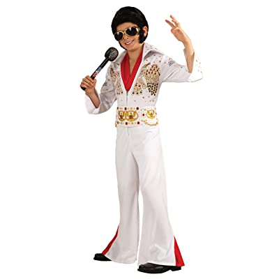 Rubies Deluxe Elvis Child Costume, Toddler, One Color: Toys & Games