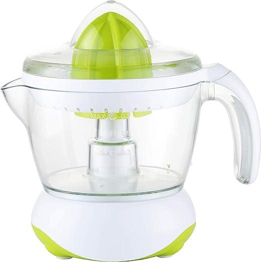Exprimidor eléctrico de naranjas para zumo Family Care, jarra libre de BPA con 700ml, boquilla antigoteo, accesorios desmontables apto para lavavajillas, potencia 40W: Amazon.es: Hogar