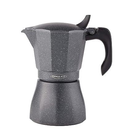 Oroley - Cafetera Italiana Petra Inducción Base de Acero Inoxidable, 12 Tazas