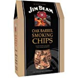 Best of the West 55005-8 Jim Beam Oak Barrel Smoking Chips, 140 Cubic Inch Box