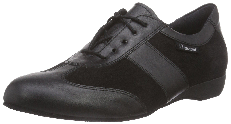 Diamant Men's Model 123 Dance Sneaker- 1'' (2.5 cm) Wedge Heel (Wide - H Width), 6.5 W US (6.0 UK) by Diamant
