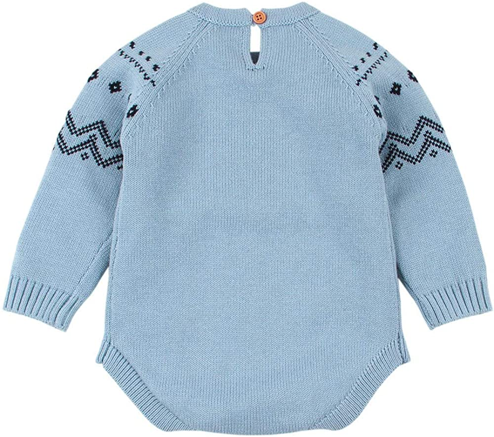 Infant Fox Romper Iuhan Newborn Baby Knitted Sweater Jumpsuit Tops