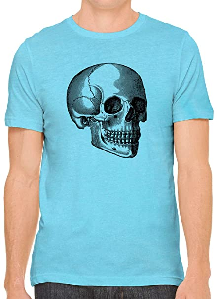 Psycho Bunny Men/'s Light Blue Grid-Print Cotton Sport Check Shirt