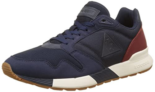 f846b9c48cb4 Le Coq Sportif Mens Dress Blue Omega X Sneakers-UK 7  Amazon.ca ...