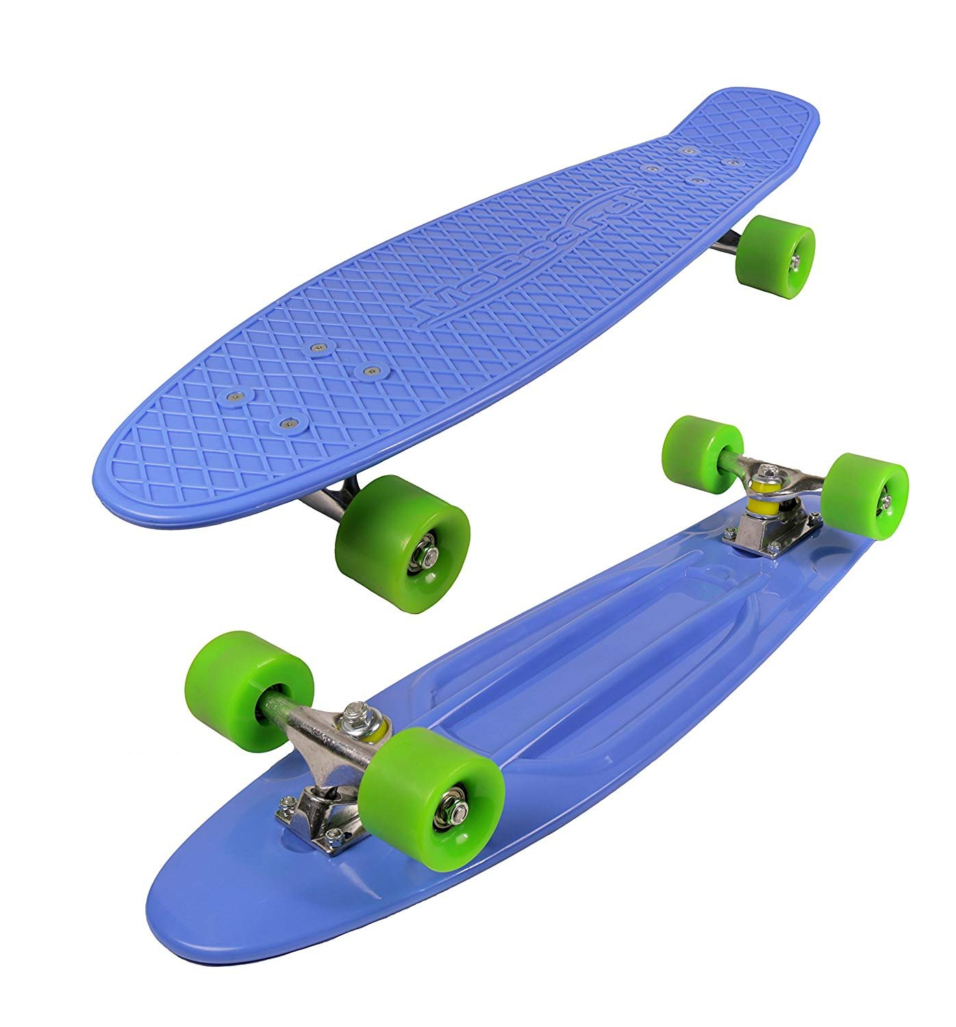 MoBoard 27'' Graphic Complete Skateboard, Blue/Green
