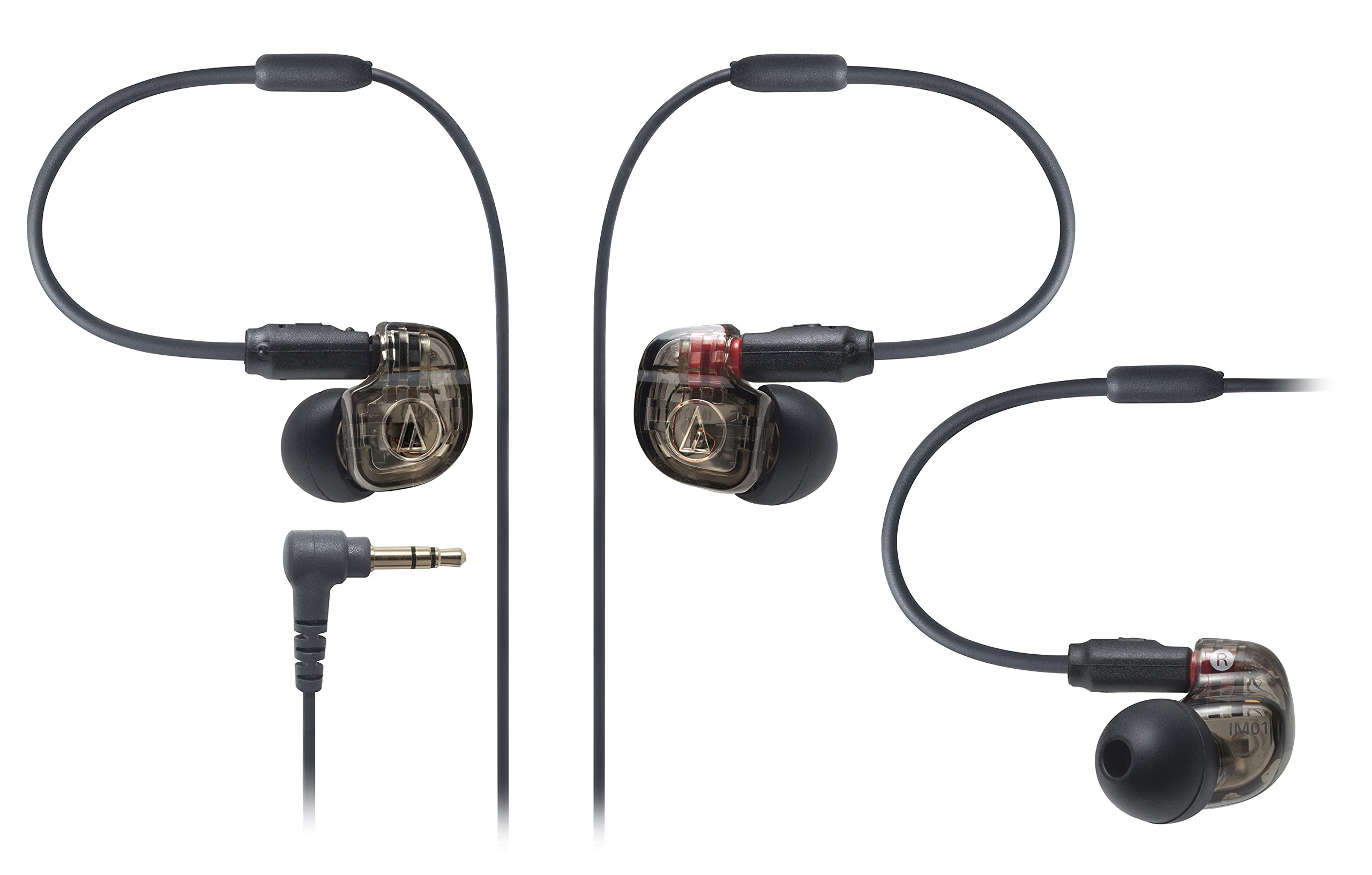 Audio Technica ATH-IM01 SonicPro Balanced In-Ear Monitor Headphones