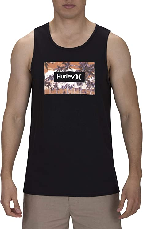 Hurley M Simple Birds Tank Camiseta Hombre