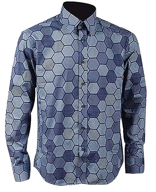 Amazon.com: Hexagonal para camisa de hombre Knight Joker ...