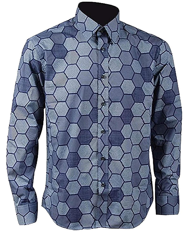S S Men Mens Hexagon Shirt Knight Shirt Cosplay Costume