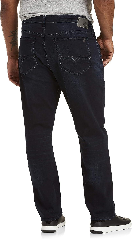 44W X 30L Buffalo David Bitton Hooks Dark Wash Stretch Jeans Dark Wash