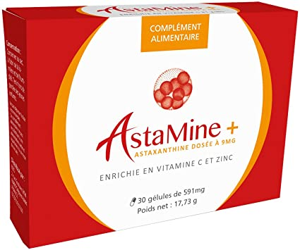 astamine + – astaxantina 9 mg Enrichie De cinc y Vitamina C – Ebo R &
