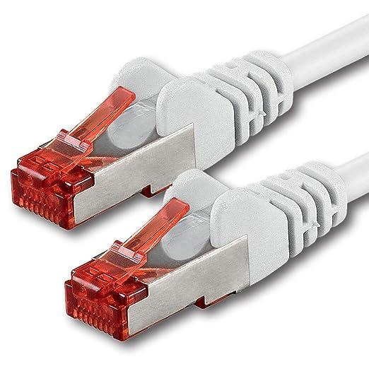 60 opinioni per 1aTTack CAT6PIMF Sstp cavo di rete con doppia schermatura e 2x connettore