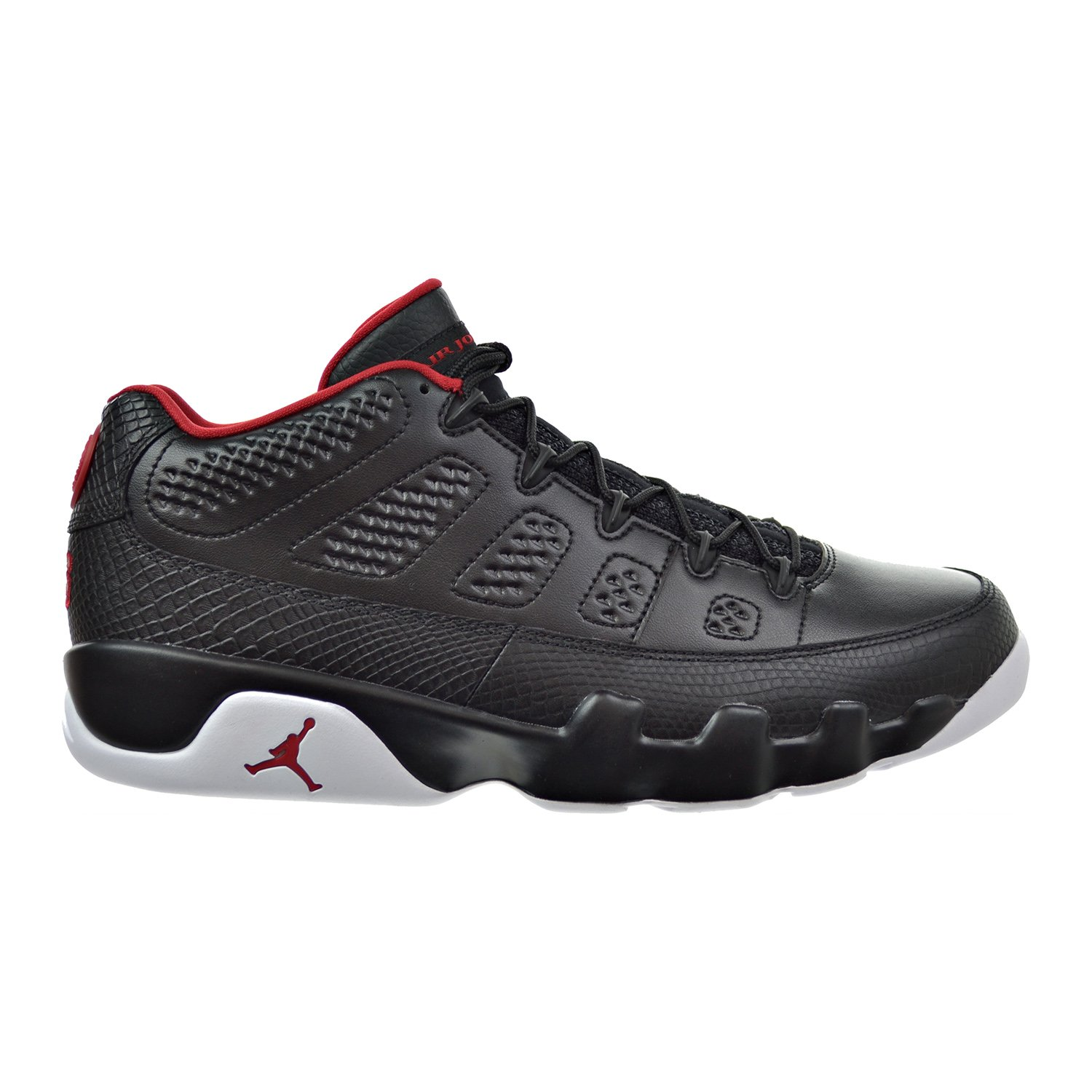 new product 96848 afee8 Amazon.com   Jordan Air 9 Retro Low Men s Shoes Black Gym Red White  832822-001   Fashion Sneakers