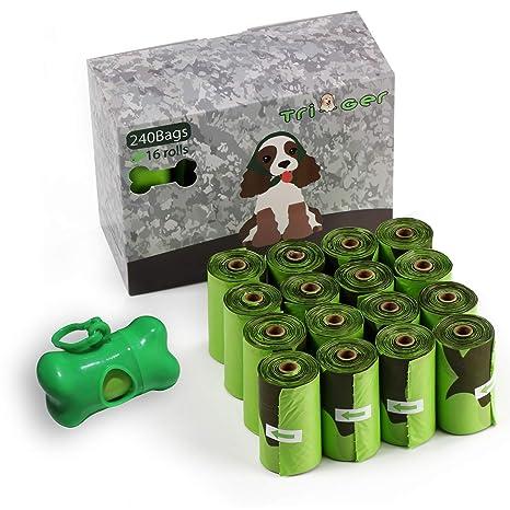 Amazon.com: Tri-Ger - Bolsa de basura para perros, con ...