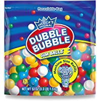 Dubble Bubble Gumball Refill, 8 Flavors, 3.3 lbs