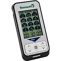 TESMED Trio 6.5 elettrostimolatore Muscolare e TENS - 36 programmi - 40 Livelli di intensità - Batteria Ricaricabile - 4 elettrodi