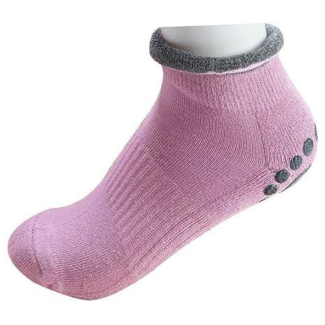 Amazon.com : WINOMO 4 Pairs of Yoga Socks Womens Non Slip Anti-Skid Pilate Grip Socks : Sports & Outdoors