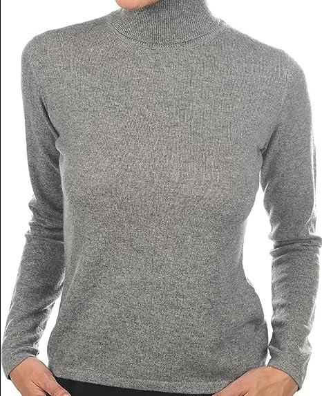 buy popular c5f15 be49d Balldiri 100% Cashmere Kaschmir Damen Pullover Rollkragen ...