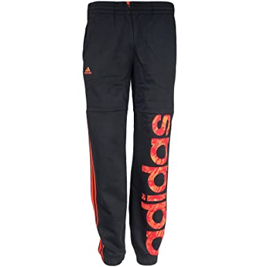 a3c05a414f110 adidas Junior Boys RD Knit Track Pants Kids Black Climalite Tracksuit  Trousers Joggers Jogging Bottoms (15-16 Years): Amazon.co.uk: Clothing