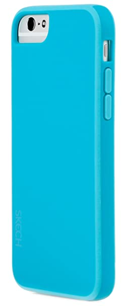 Amazon.com: Skech Ice Case for iPhone 6 Retail Packaging Aqua Sky, 1 ...
