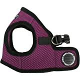 "Puppia Step-In Soft Vest Dog Harness - Purple - MD (14.5""-16"" Girth)"