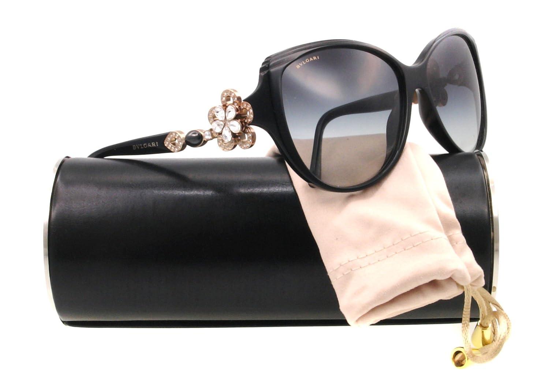 Amazon.com: anteojos de sol Bvlgari BV 8097B Black 501/8G ...