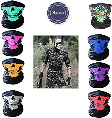 6th United States Army US Army Outdoor Face Mouth Mask Windproof Sports Mask Ski Mask Shield Scarf Bandana Men Woman