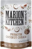 Premium Coconut Cream by Marion's Kitchen, Non GMO, All Natural, Unsweetened, 12 Pack.