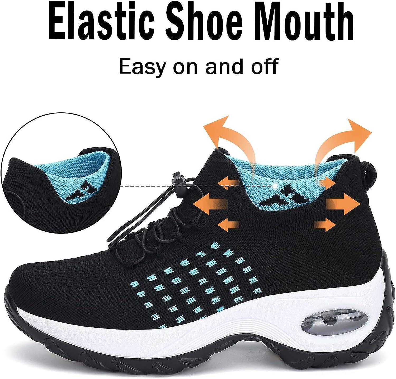 Zapatos Deporte Mujer Zapatillas para Correr Mesh Calzado de Caminar,Gr.35-42 EU: Amazon.es: Zapatos y complementos