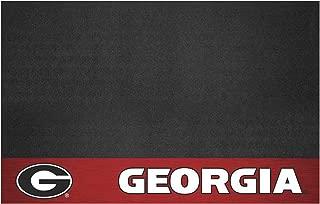 "product image for FANMATS 12118 NCAA University of Georgia Bulldogs Vinyl Grill Mat Black, 26""x42"""