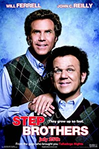"Posters USA - Step Brothers Movie Poster GLOSSY FINISH) - MOV516 (24"" x 36"" (61cm x 91.5cm))"