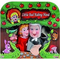 Caja 4 marionetas caperucita