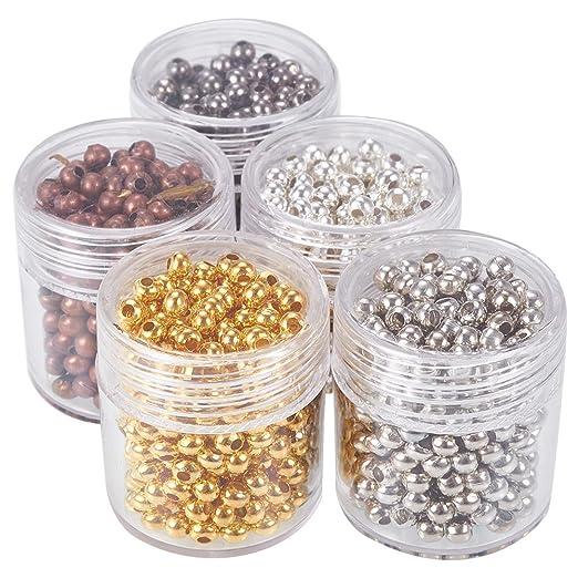 5 opinioni per Pandahall 5 Scatole 1350PCS Perline Distanziatori Perline per Bigiotteria