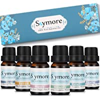 Skymore Therapeutic Grade Essential Oils Set, for Aroma Diffuser, Relief, Reflesh, Immunty, Sleep, Happy, Breathe, 6x10 ml