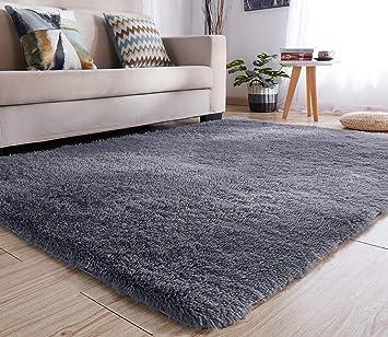 Weicher Teppich Für Kinderzimmer.Lochas Teppiche Für Wohnzimmer Fluffy Shaggy Super Weicher Teppich Geeignet Als Schlafzimmerteppich Home Decor Kinderzimmer Teppiche Kindermatte 120