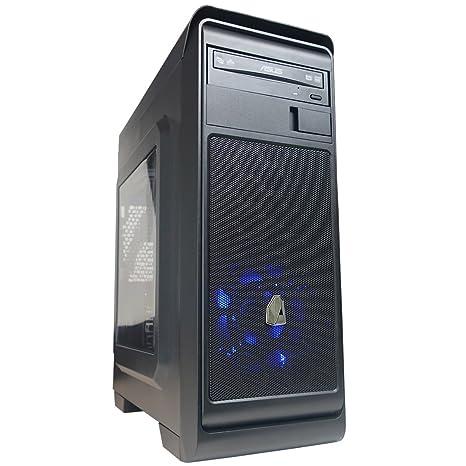 NITROPC - PC Gamer Nitro X *Rebajas DE Junio* (CPU Quad-Core 4 x 3,80Ghz, T. Gráfica R7 2GB, HDD 1Tb, Ram 16GB + Windows 10 64 bits Prel.) + WiFi de ...
