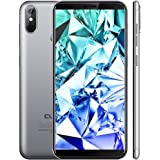 CUBOT 4G Smartphone Economici J3 PRO Cellulare Offerte Android GO MT6739 5,5 pollici 18: 9 FHD 1 GB RMA + 16 GB ROM 13,0 MP + 2,0 MP Dual-Nano SIM 2800 mAH Batteria (Grigio)