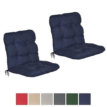 Niedriglehner Auflagen Stuhlauflage Sitzauflagen Gartenstuhl Sitzkissen Polster