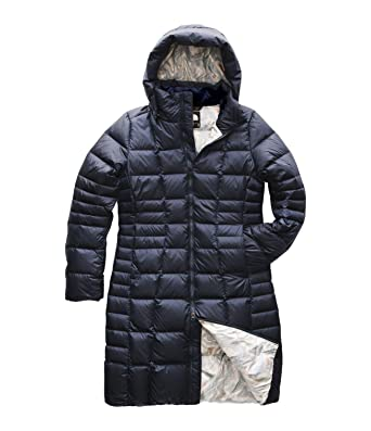 93ae52048 The North Face Women's Metropolis Parka II Urban Navy/Multi Topo Print  X-Small