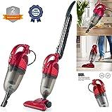 Duronic Vc7 Rd Upright Stick Vacuum Cleaner Handheld Hepa