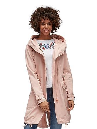 neues Konzept 0c320 4881a Tom Tailor Denim Damen Parka rosa M: Amazon.de: Bekleidung