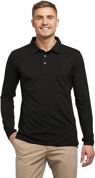 Solbari UV Sun Protection Men/'s Long Sleeve T-shirt UPF 50 Cotton Bamboo