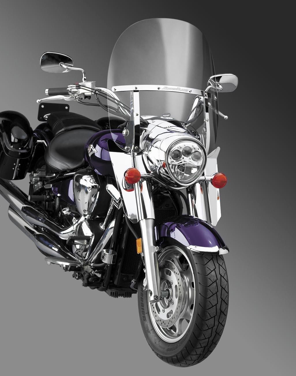 Kawasaki Vulcan 1600 Classic Switchblade 2UP Windshield National Cycle
