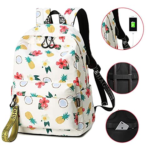 School Backpack Teen Girls Bookbag Cute School