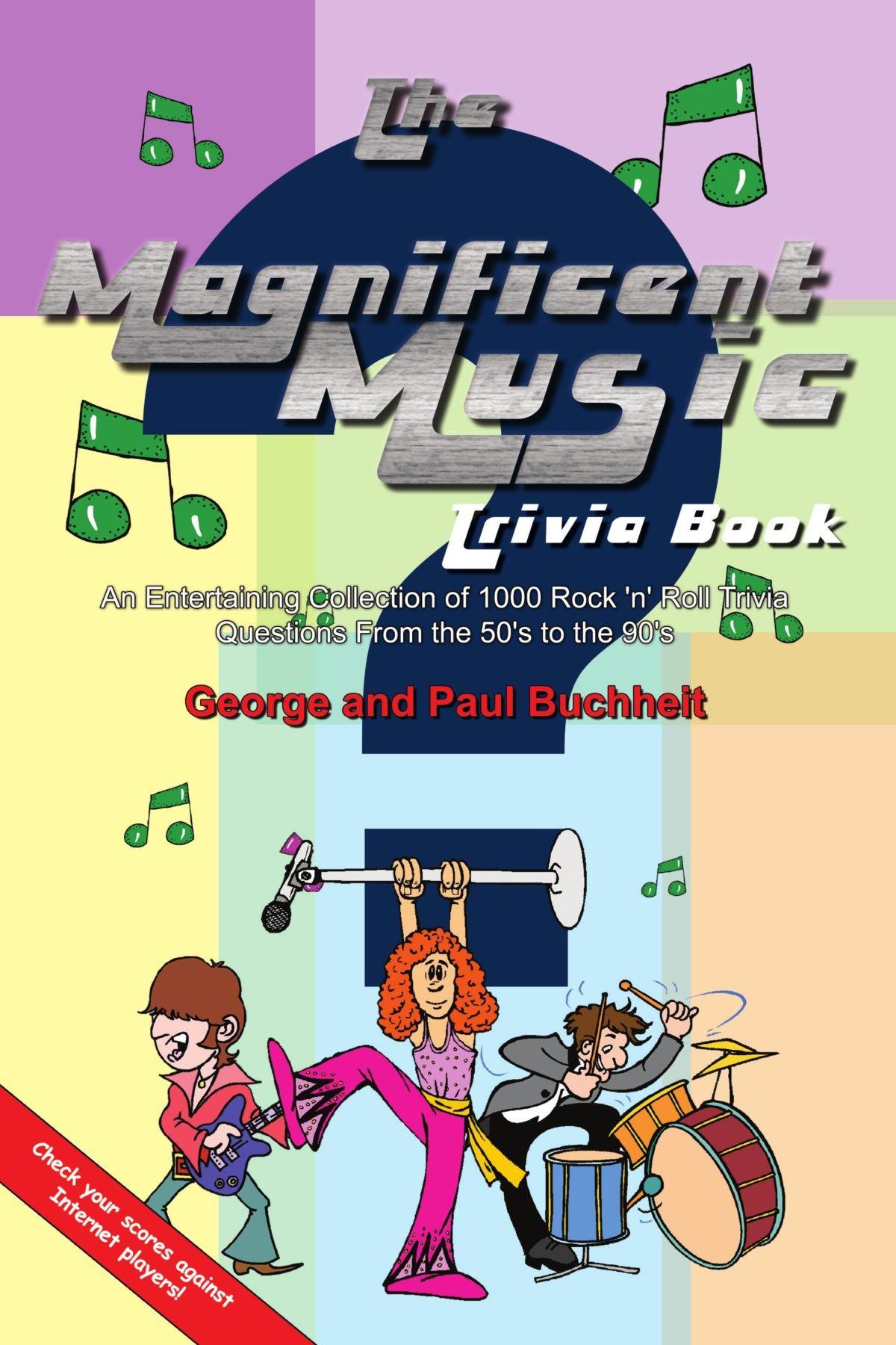 Read Online The Magnificent Music Trivia Book pdf epub