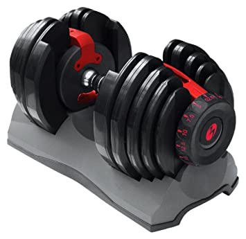 Amazon.com : Bowflex SelectTech 552 Adjustable Dumbbell (Single) : Dial Dumbell : Sports & Outdoors